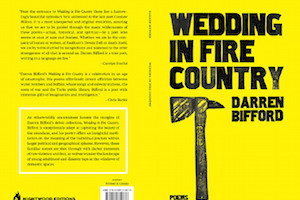 "<p> ""Wedding in Fire Country,"" Darren Bifford </p><p style=""font-size:11px""> Matrix Magazine, February 2013</p>"